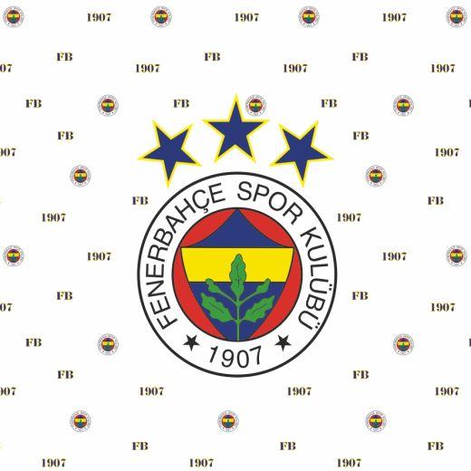 Fenerbahçe Desenli Baskılı Zebra Perde BZP70121