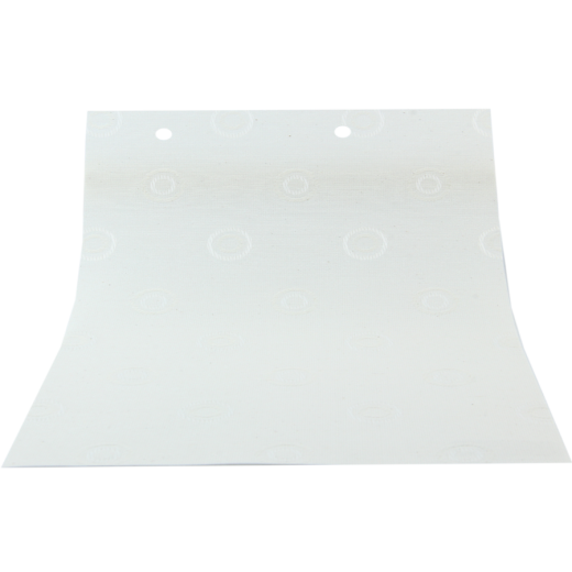 Daire Desenli Beyaz LACE Serisi Keten Stor Perde LACE4070