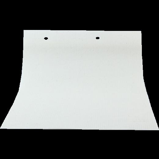 Dal Desenli Beyaz LACE Serisi Keten Stor Perde LACE4010