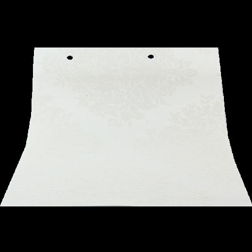 Dantel Desenli Beyaz LACE Serisi Keten Stor Perde LACE4060