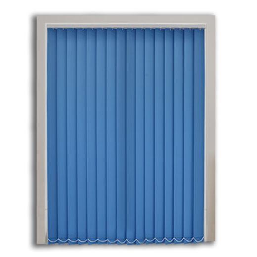 Mavi Polyester Dikey Perde MA816