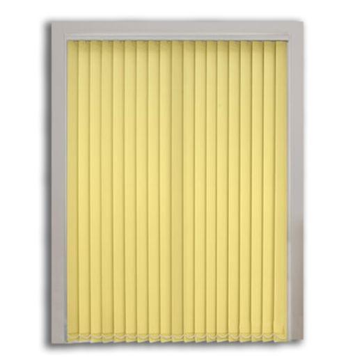 Kirli Sarı Polyester Dikey Perde