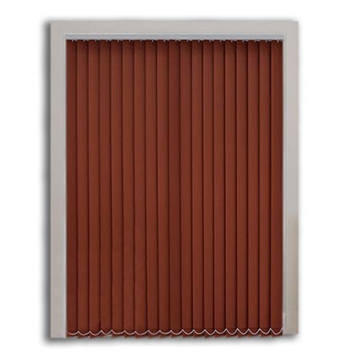 Kahverengi Polyester Dikey Perde