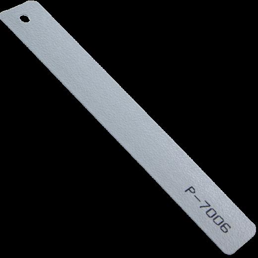 Gri Çekiç Dövme Alüminyum Jaluzi Perde (P7006)