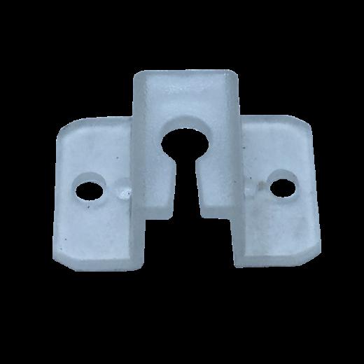 Jaluzi Perde Zıgıl Sabitleyici Şeffaf Plastik Ayak JPY0036