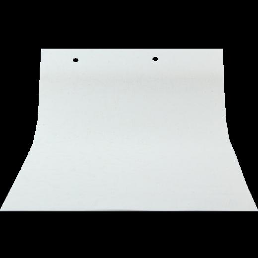 Kırık Çizgi Desenli Beyaz LACE Serisi Keten Stor Perde LACE4030