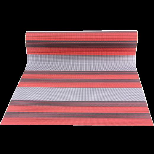 Kırmızı-Siyah Desenli VZ Serisi Zebra Stor Perde
