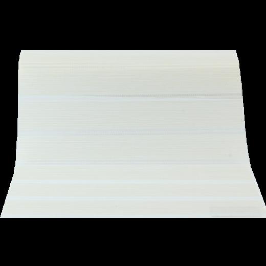 Krem Beyaz Çizgili GL Serisi Keten Stor Perde GL200