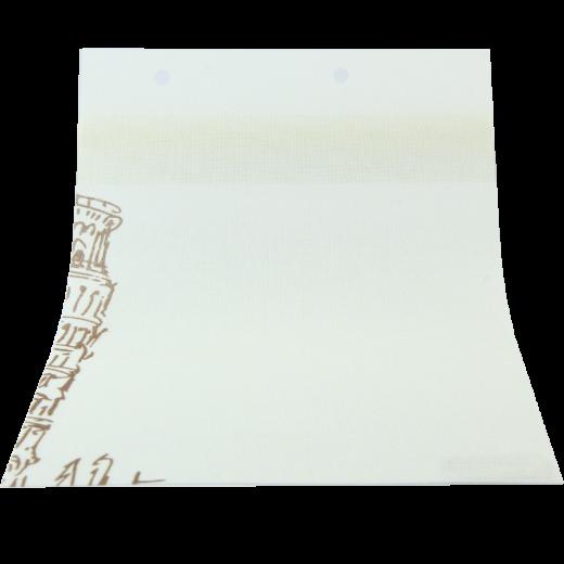 Kule Baskılı Kahverengi DESING Serisi Tül Stor Perde DESING-560