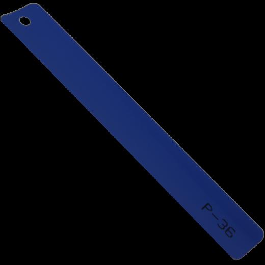 Mavi Düz Alüminyum Jaluzi (P036)