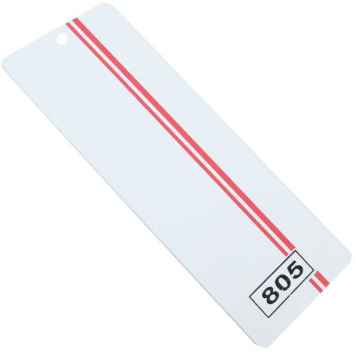 Kırmızı Çift Çizgili Pvc Dikey Perde PVC805