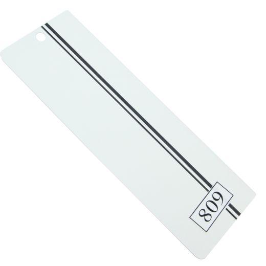 Siyah Çift Çizgili PVC Dikey Perde PVC809