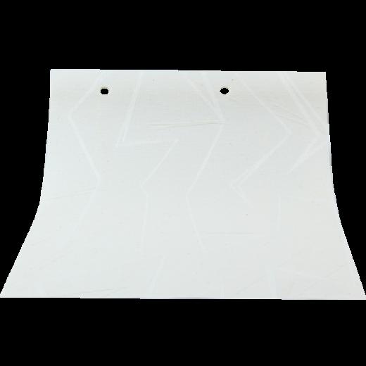 Serbest Cizgi Desenli Beyaz LACE Serisi Keten Stor Perde LACE4040