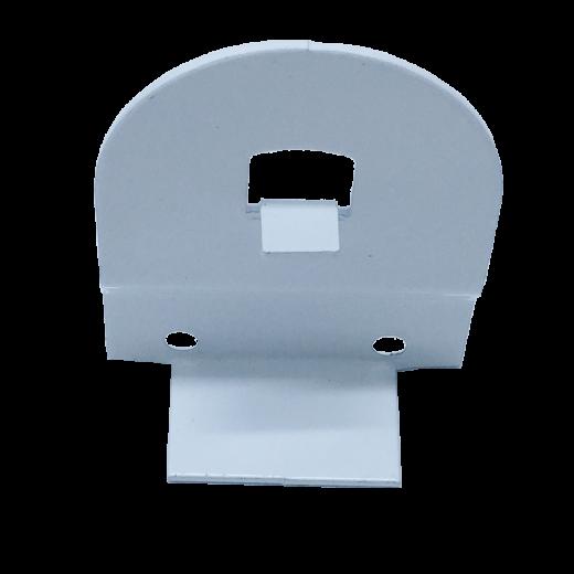 32 lik Beyaz Yaylı Stor Perde ve Projeksiyon Perde Kare Pimli Metal Ayak SPY079