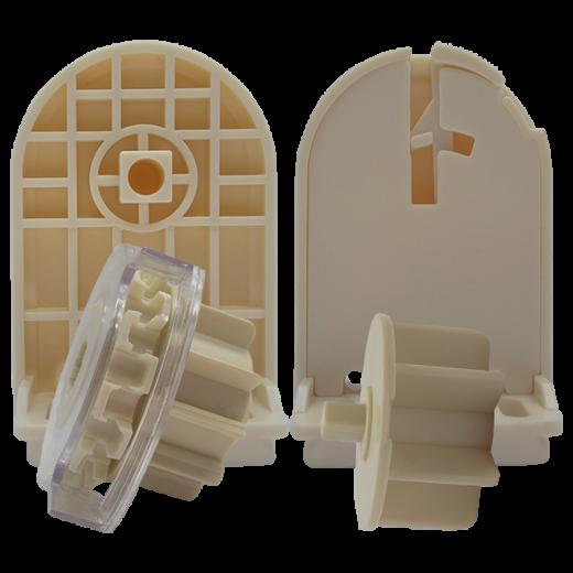 38 lik Redüktörlü Krem Şeffaf Zincir Mekanizmalı ve Plastik Ayaklı Takım SPY361