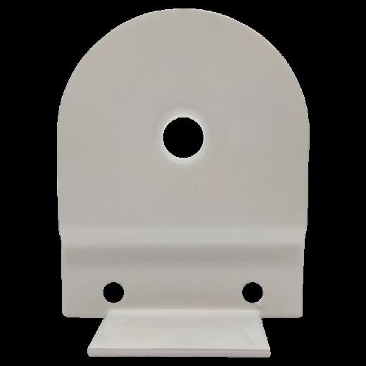 32 lik Beyaz Yaylı Stor Perde ve Projeksiyon Perde Boru Sonu Dişi Metal Ayak SPY064