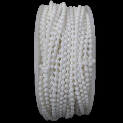 Stor Perde Beyaz Beyaz Sonlu Zincir SPY081