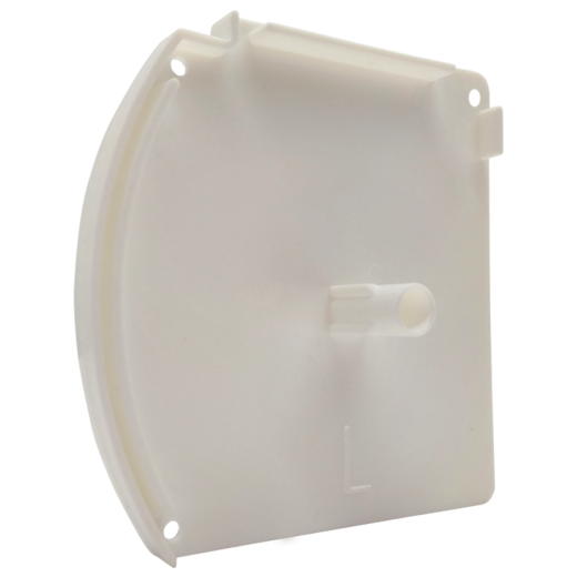 Kapalı Kasa Perde Kare Tıpalı Küçük Kutu Beyaz Sol Kapak SPY119