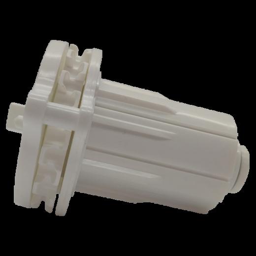 45 lik Motorlu Perde Kare Pimli Beyaz Manuel Zincir Mekanizma