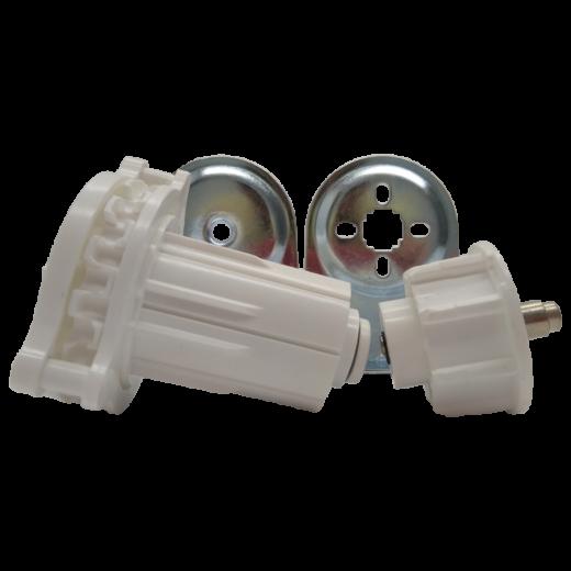45 lik Boru Beyaz Zincir Mekanizma ve Metal Ayak Takımı SPY235