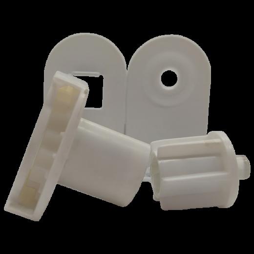 27 lik Zincir Mekanizma Dar Kasa Metal Ayaklı Beyaz Takım SPY244