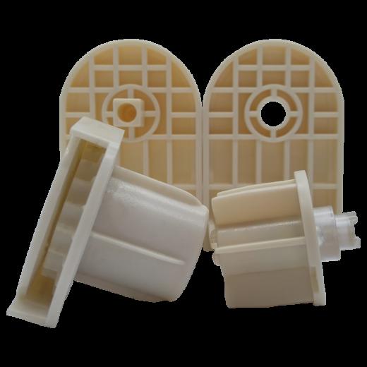 32 lik Krem Zincir Mekanizma ve Plastik Ayak Takım SPY246