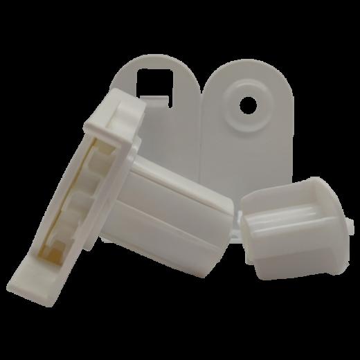32 lik Jumbo Beyaz Zincir Mekanizma ve Uzun Metal Ayaklı Takım