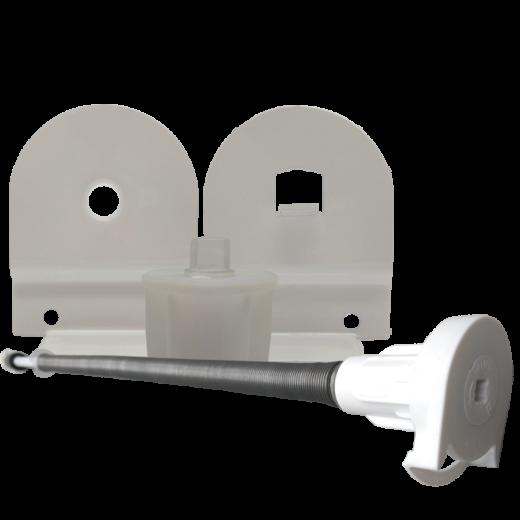 32 lik Beyaz Yaylı Stor Perde ve Projeksiyon Perde Yay Ve Ayak Takımı SPY265