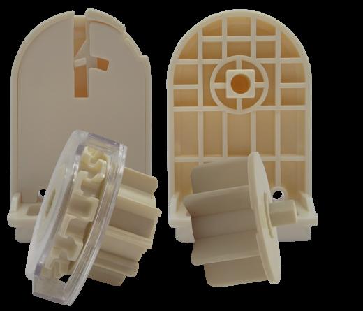 38 lik Redüktörlü Beyaz Zincir Mekanizmalı  ve Metal Ayaklı Takım