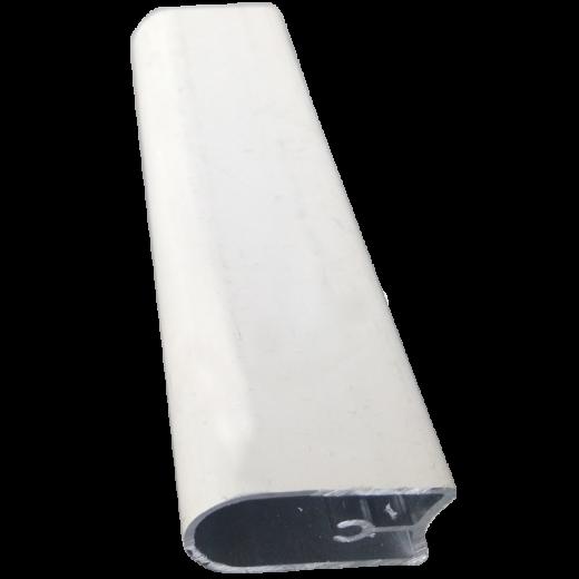 Zebra Perde Krem Oval Etek Alüminyum Profili SPY428