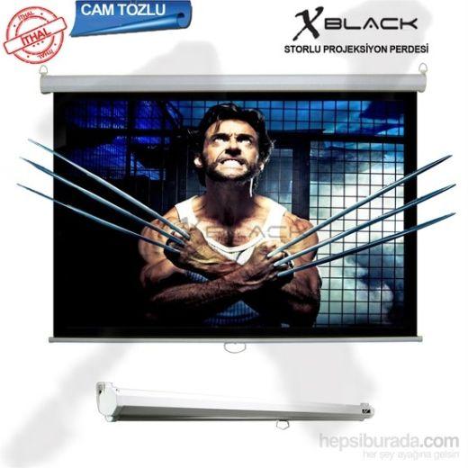 XBLACK XGS-240 240x200 Glass Beads Storlu Projeksiyon Perdesi
