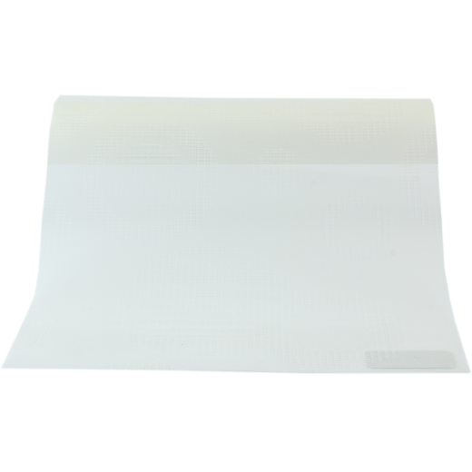Yuvarlak Desenli Beyaz Vual Serisi Tül Stor Perde VUAL-650