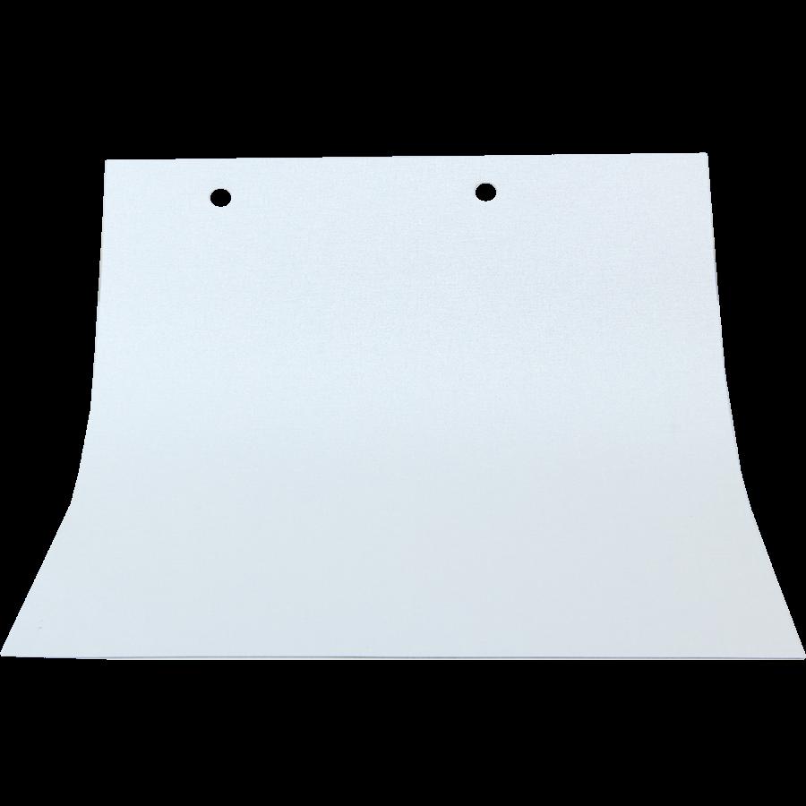 Önü Beyaz Arkası Beyaz MX Serisi Karartma Stor (Blackout - Işık Geçirmez) Perde  MX1000
