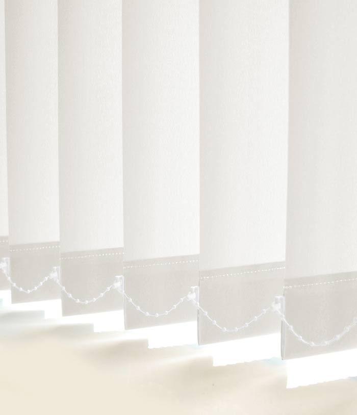 Beyaz Screen Kumaş Dikey Perde (YS9100-DİKEY)