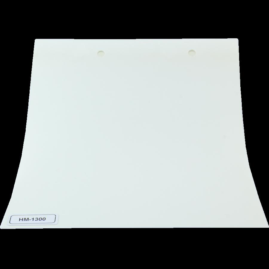 Beyaz Simli HM Serisi Polyester Stor Perde HM 1300 arka