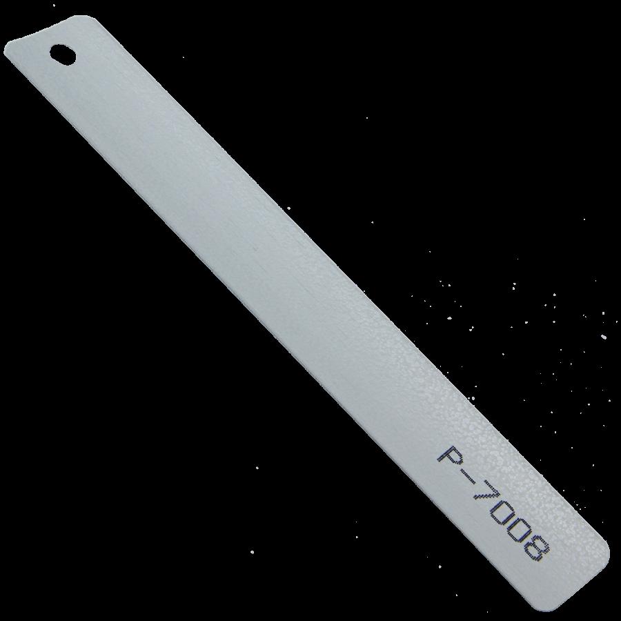 Gri Beyaz Çekiç Dövme Alüminyum Jaluzi Perde (P7008)