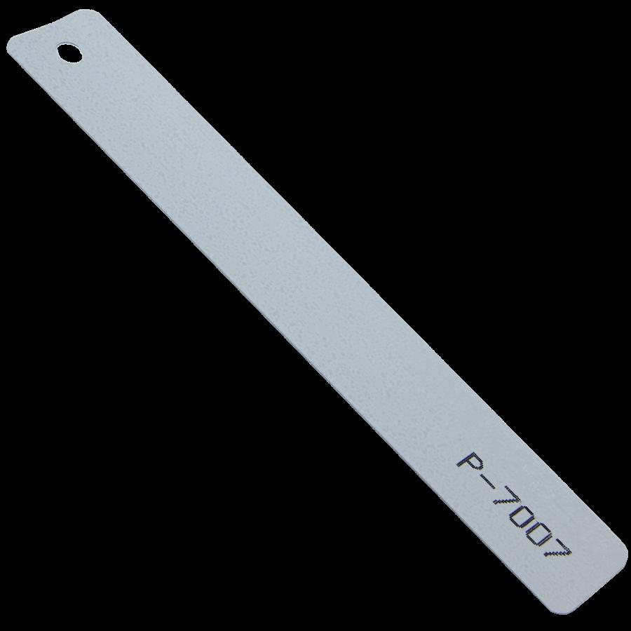 Gri Gümüş Çekiç Dövme Alüminyum Jaluzi Perde (P7007)