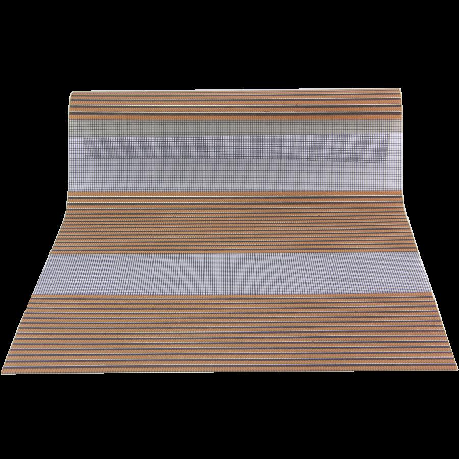 Kahverengi-Sarı Desenli VZ Serisi Zebra Stor Perde