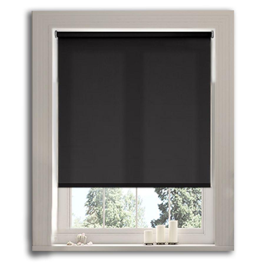 Antik Siyah MA Serisi Polyester Stor Perde