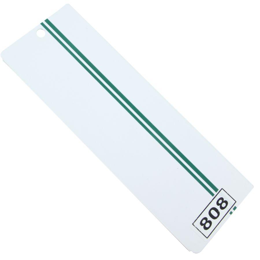 Yeşil Çift Çizgili PVC Dikey Perde PVC808