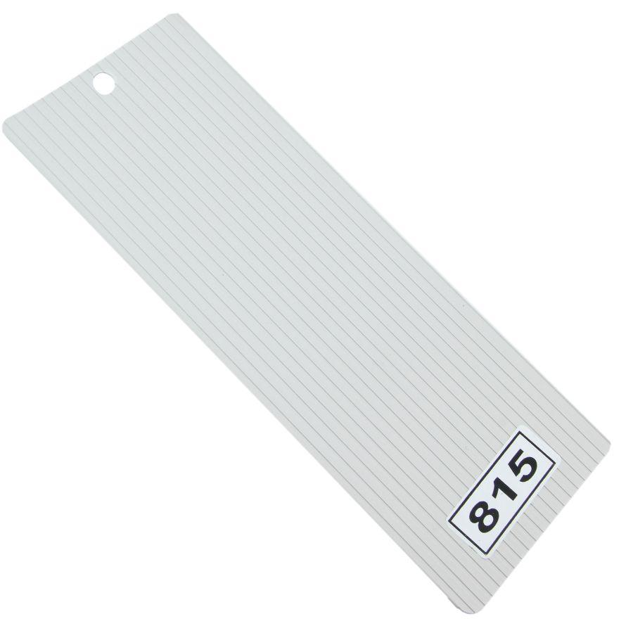 Gri Oluklu PVC Dikey Perde PVC815