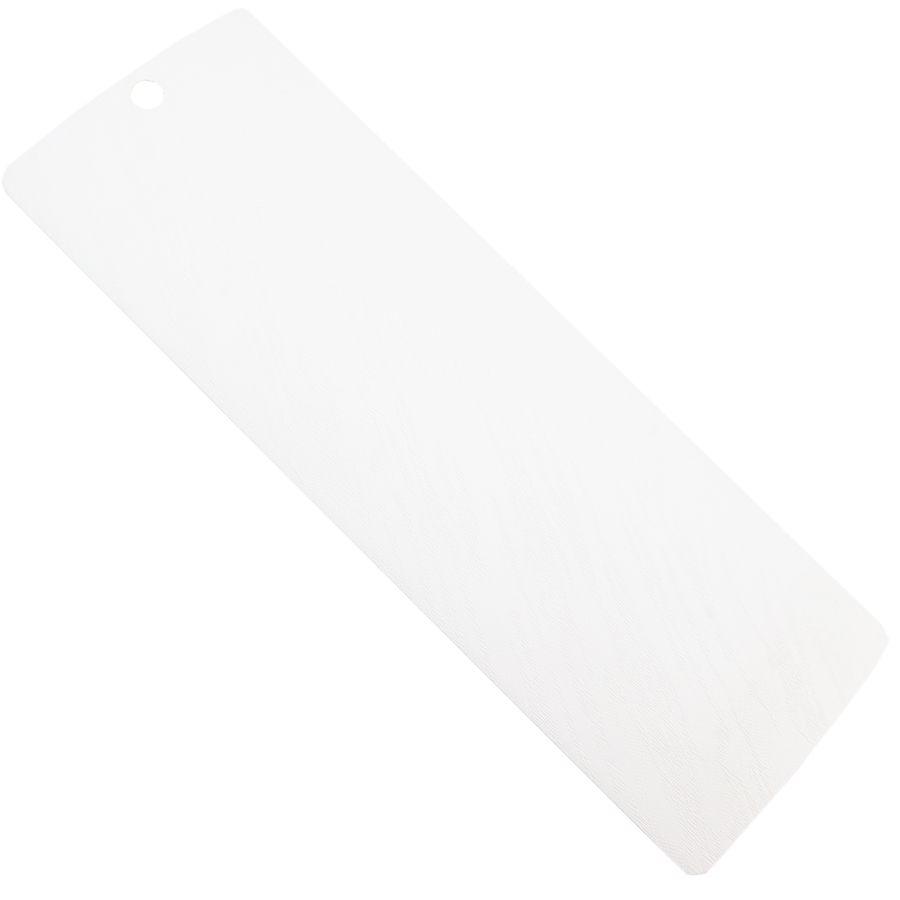 Beyaz Kavisli Pvc Dikey Perde (PVC960)