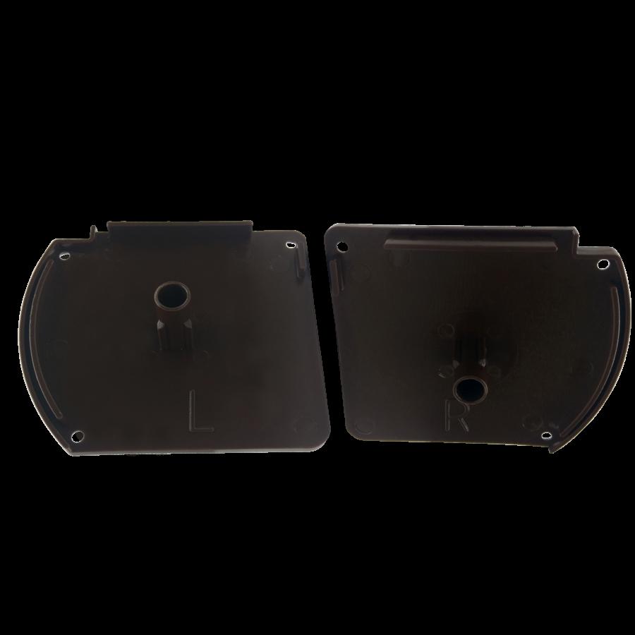 Kapalı Kasa Perde Küçük Kutu Kahverengi Kapak Takımı SPY329