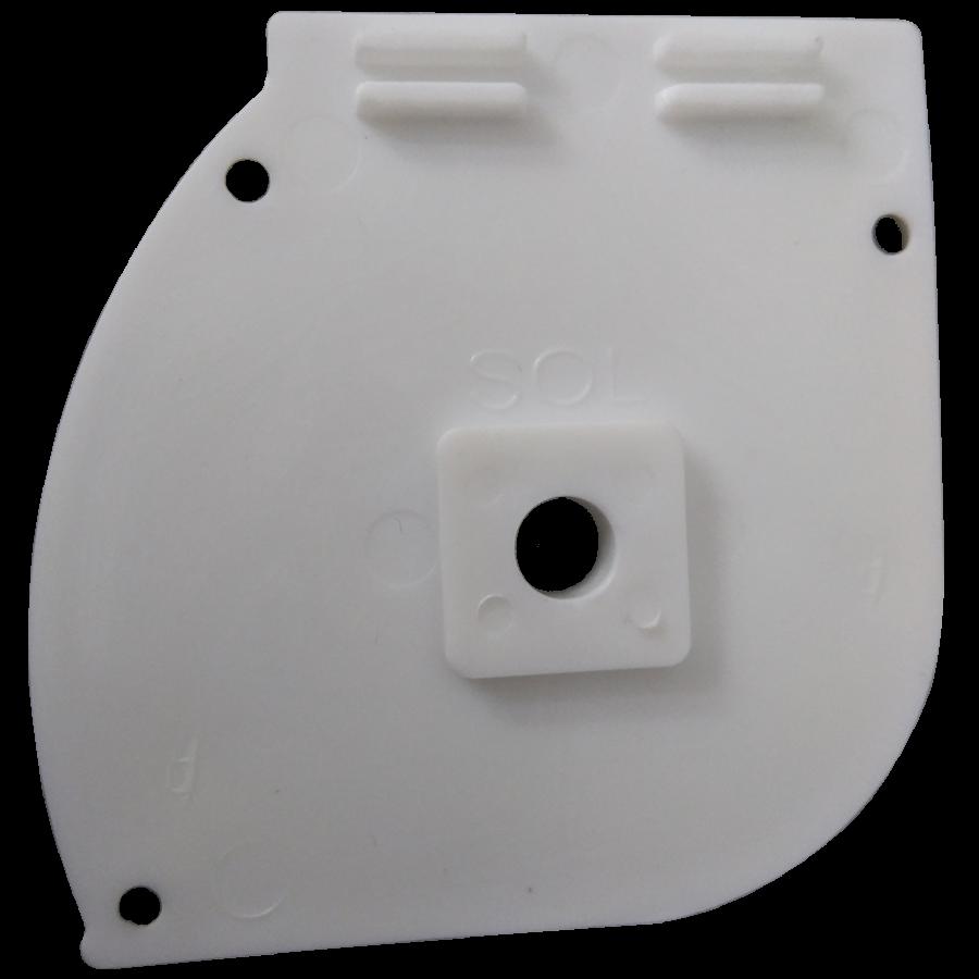 Kapalı Kasa Perde Dİşi Aparatlı Küçük Kutu Modüler Kapak SPY056
