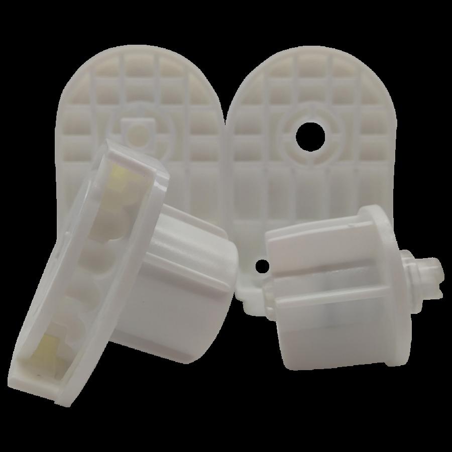 32 lik Beyaz Zincir Mekanizma ve Geniş Kasa Plastik Ayak Takım SPY247