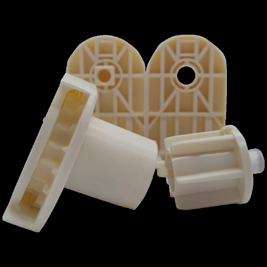 27 lik Krem Zincir Mekanizma ve Plastik Dişi Ayaklı Takım