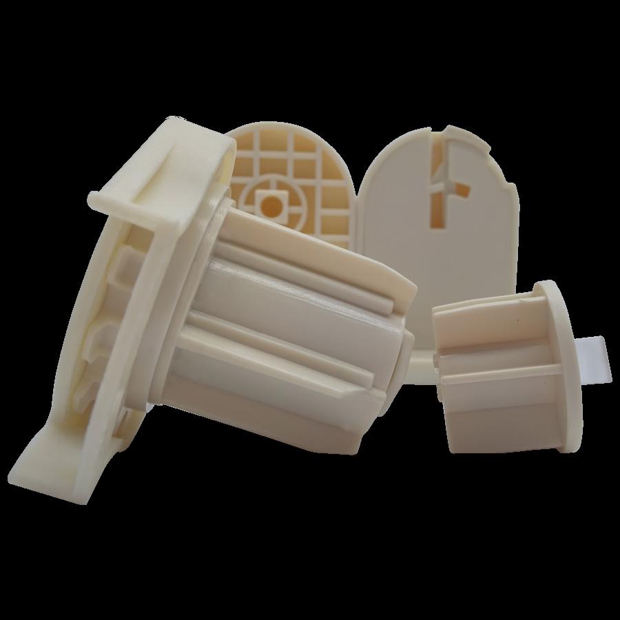 38 lik Jumbo Krem Zincir Mekanizma ve Plastik Mandal Ayaklı Takım SPY260