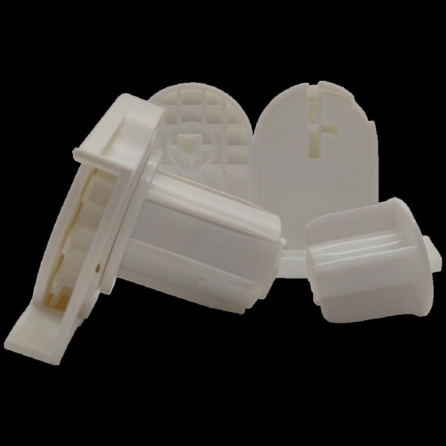 32 lik Jumbo Beyaz Zincir Mekanizma ve Plastik Mandal Ayaklı Takım SPY262