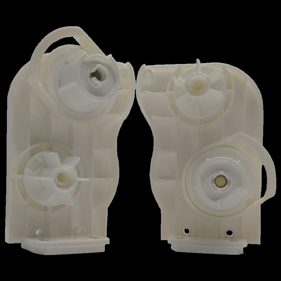 Çift Mekanizmalı Stor Perde Kapalı Kasa Kapak ve Mekanizma Beyaz Takım SPY274