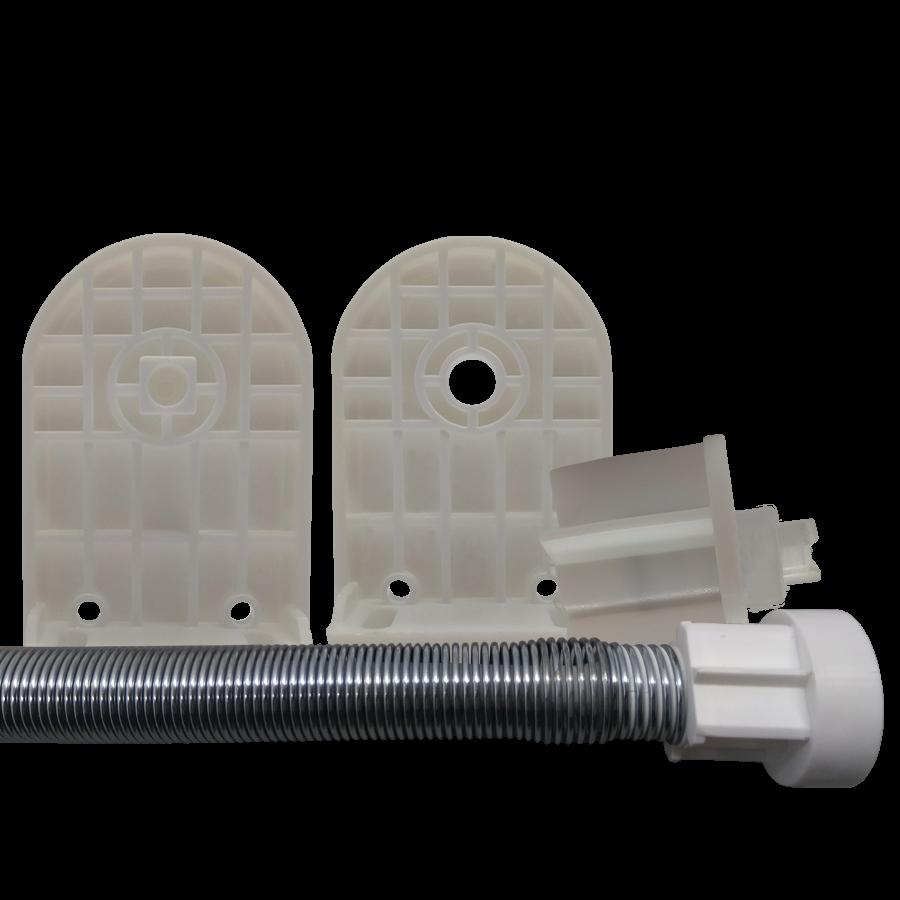 32 lik Beyaz Yaylı Perde Kumaşsız Bitmiş Mekanizma Takım SPY353
